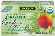 Bigelow® Organic Rooibos with Asian Pear