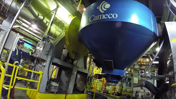 Cameco, the largest western uranium producer.