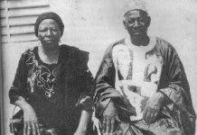 Marguerite et Joseph Sankara
