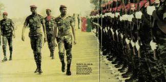 revue de troupe par Thomas Sankara