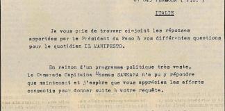 Lettre de Paulin Bamouni