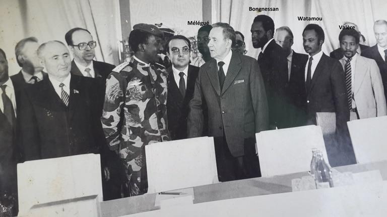 Visite du président Thomas Sankara en Union soviétique