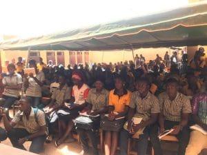 19 octobre 2019. Conférence au lycée Thomas Sankara à Ouagadougou avec Ismaël Ouedraogo.