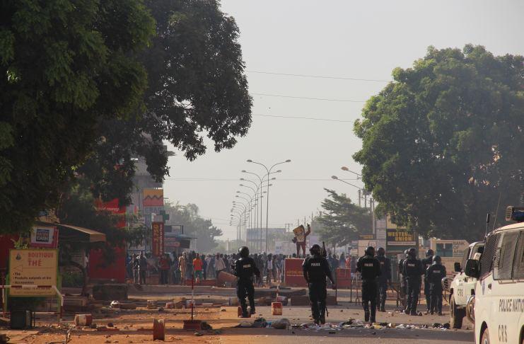 Ouagadougou 30 octobre 2014©Le Reporter