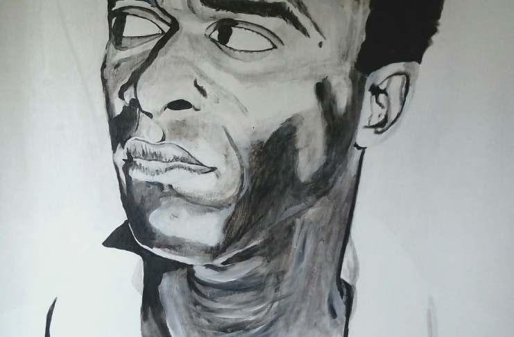 Portrait de Fanon ©Deirdre Bihan