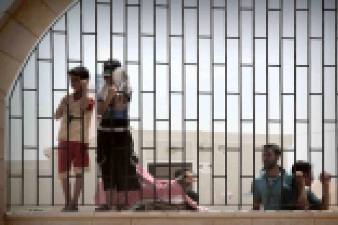 Flüchtlingslager in Jordanien nahe Ramtha © Tom Rübenach