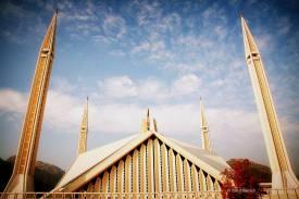 King Faisal Mosque Islamabad, Pakistan © Tom Rübenach