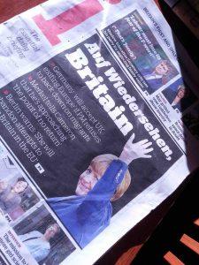 Die Realität hat sie eingeholt: Merkel 2014