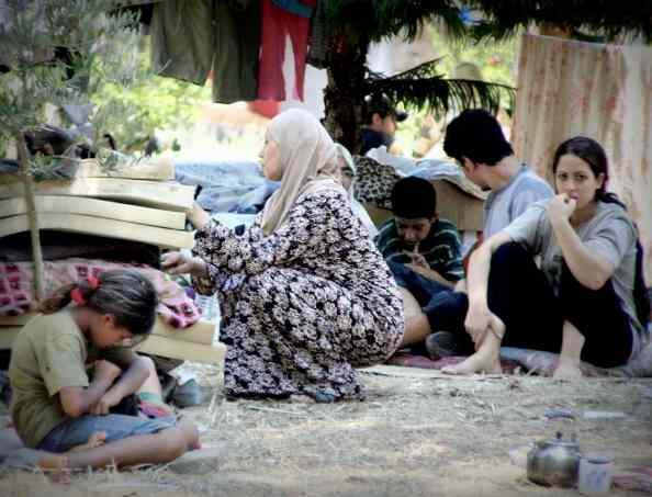 Fluechtlinge in Beirut 2006 © Tom Rübenach