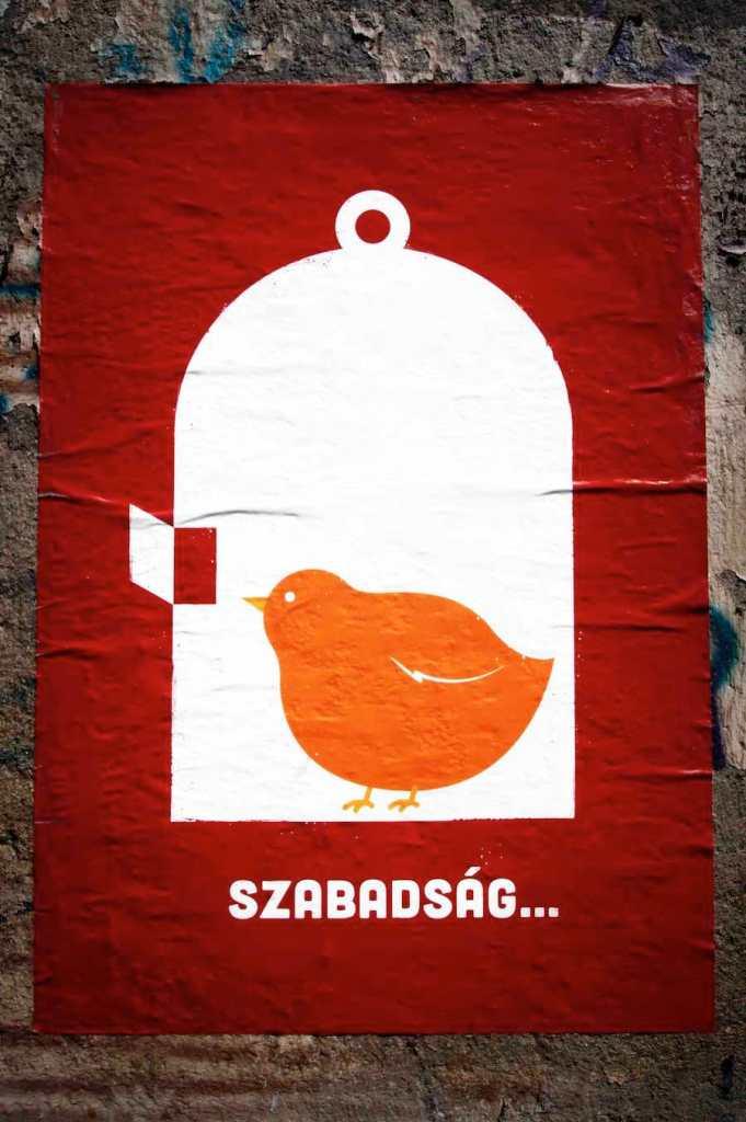 Das ungarische Wort für Freiheit © Tom Rübenach