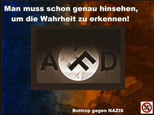 Mauerbauer AfD © Bottrop gegen Nazis