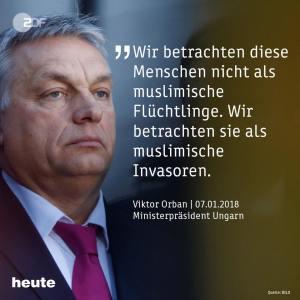 Die Sprache des Hasses: Orbán bei der CSU