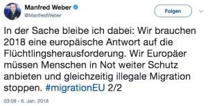 CSU-Mann Weber vergaloppiert sich