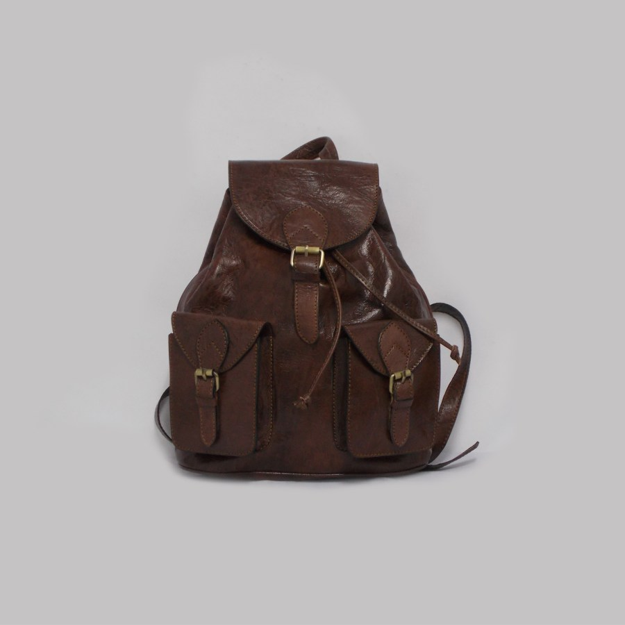 Mochila Backpack Thomassi 2020 Handmade Leather
