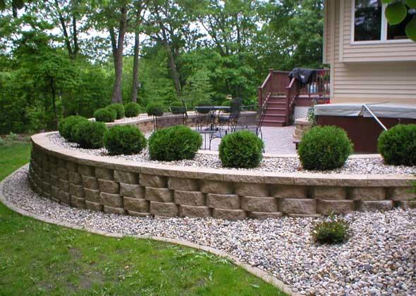 retaining walls - thomas tree &