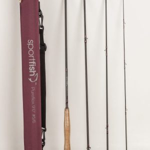 Sportfish Pureflex 9' #5/6 fly rod with tube