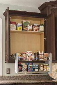 Thomasville - Organization - WALL CABINET WITH PULL DOWN SHELF