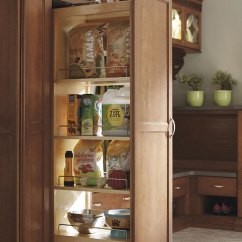 Kitchen Cabinet Sizes Brushed Nickel Faucet With Sprayer Thomasville - Organization Tall Pantry Pullout
