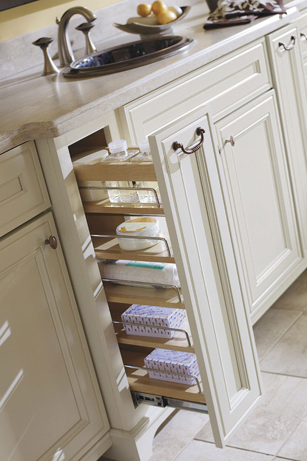 kitchen island home depot sink styles thomasville - organization vanity pullout