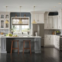 Home Depot Cabinets Kitchen Outdoor For Sale Thomasville - Camden Maple Dover And Fossil