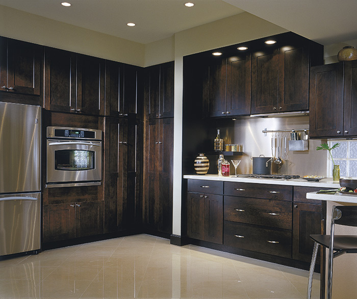thomasville kitchen cabinets discount replacement cabinet doors - finishes chocolate on cherry