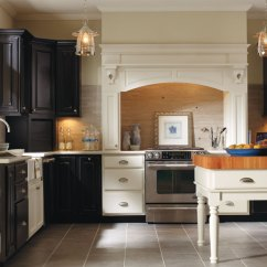 Diamond Kitchen Cabinets Rugs For Thomasville - Villa Maple Heirloom Black And Dover