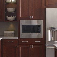 Home Depot Kitchen Remodeling Arts And Crafts Lighting Thomasville - Specialty Products Built-in Microwave Cabinet