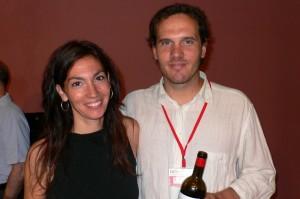 Les enfants de ceux par qui tout a recommencé, l'œnologue Sarah Perez et René Barbier