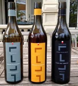 Les nouvelles étiquettes des vins de la Ville de Lausanne (18 nouveaux!) présentés le 13 mai 2013.