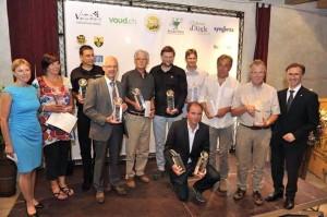 Les vainqueurs du 2ème Mondial du Chasselas.