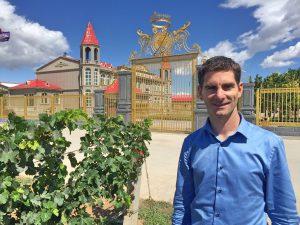 Benoit Beigner, oenologue français du Château Bacchus, à Ningxia.