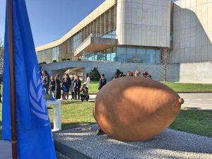 Une qvevri pour l'ONU à Genève