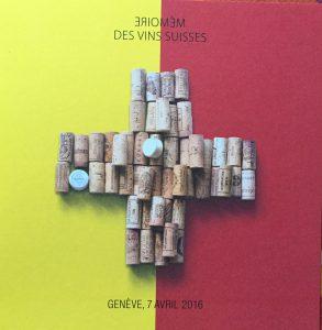 La Mémoire des vins suisses, aujourd'hui à Genève!