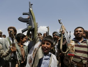 Houthi_child_soldiers