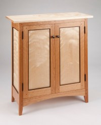 Tom Dumke Handcrafted Furniture Side Cabinet Made of ...
