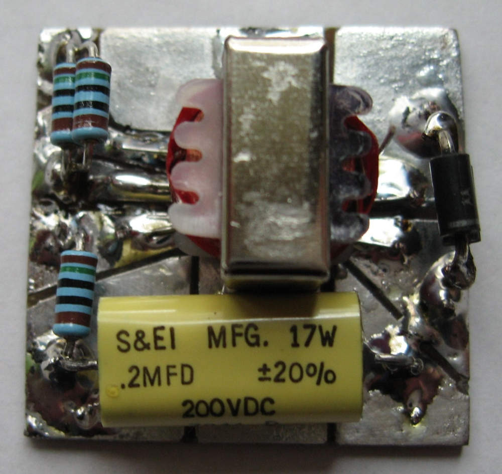 medium resolution of small board layout used on 1930 phone