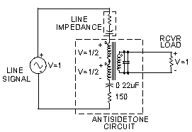 Addition of Antisidetone Circuit to Vintage Telephones