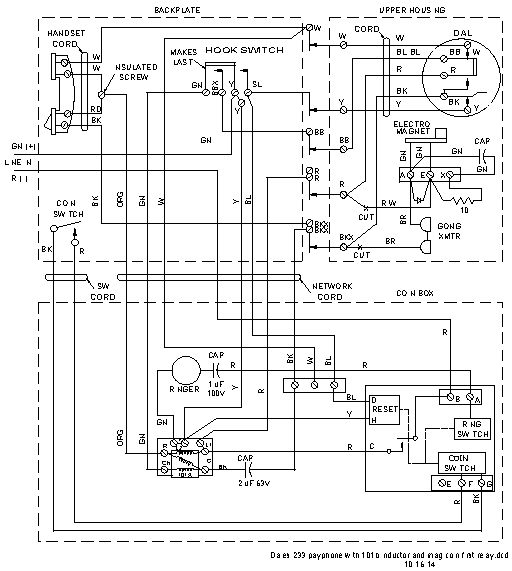 reed switch wiring diagram