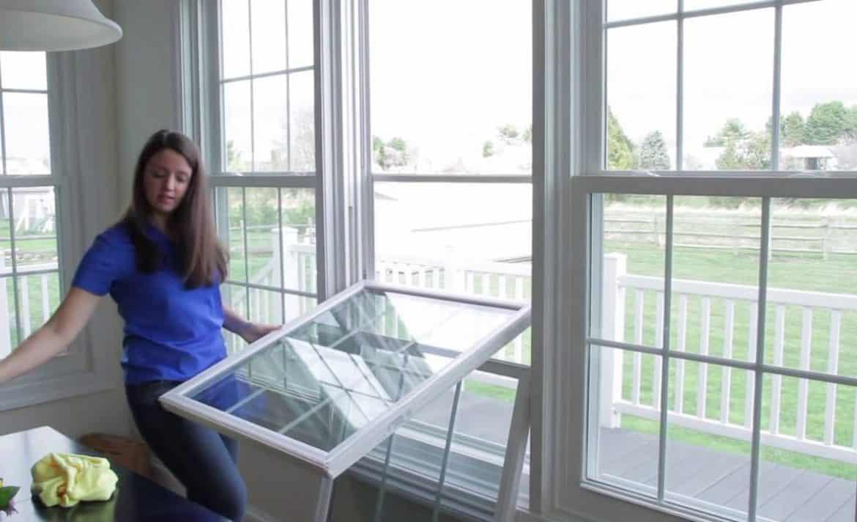 hight resolution of window maintenance