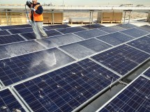 Solar Panel Cleaning Service In Jersey Thompson Roof