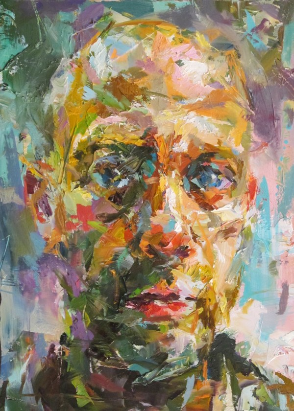 Paul Wright Portrait Painting