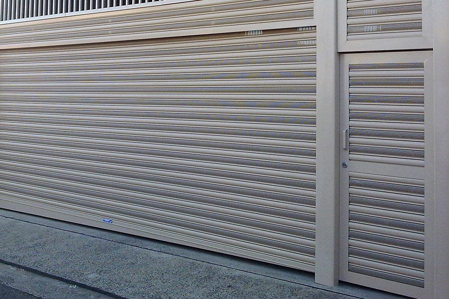 Pedestrian Access Doors Thompsons Roller Shutters