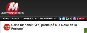 Participer jeu télé France
