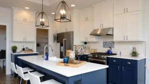 Design Trend: Navy Cabinetry Thomsen Homes