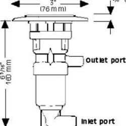 Whale Tiptoe pump Mk4 GP1309