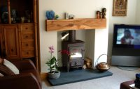 Hardwood Mantels / Wooden Mantel Piece, Custom-made in Elm ...