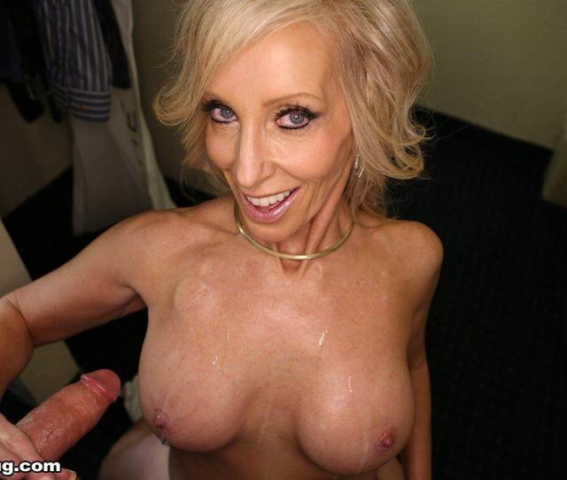 Blonde Mature Cum