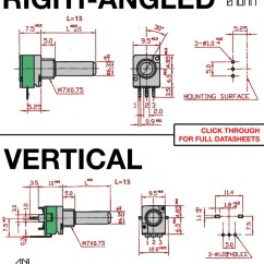 Pot Light Wiring Diagram For Half Switched Outlet Great Installation Of Alpha 9mm Pots Vertical Thonk Diy Synthesizer Kits Kill