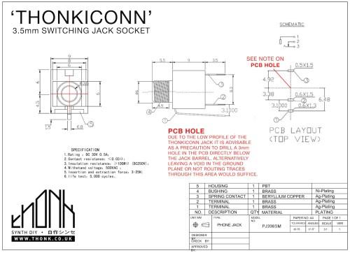 small resolution of thonkiconn jack datasheet