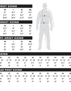 Men   racewear sizing also size charts thormx rh